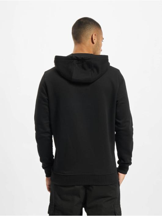 Merchcode Bluzy z kapturem ACDC Shattered czarny