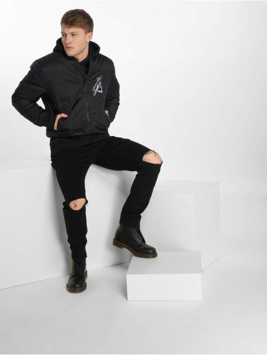 Merchcode Bomber jacket Linkin Park black