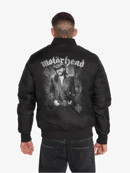 Merchcode Bomberjacke Motörhead Lemmy schwarz