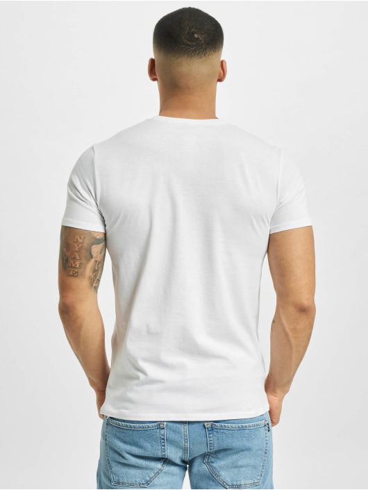 Merchcode Camiseta Popeye Logo And Pose blanco