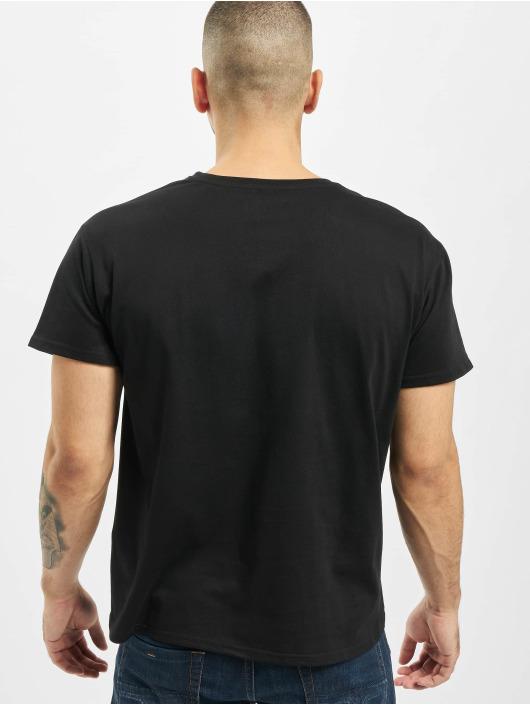 Merchcode Camiseta Black Panther Logo negro