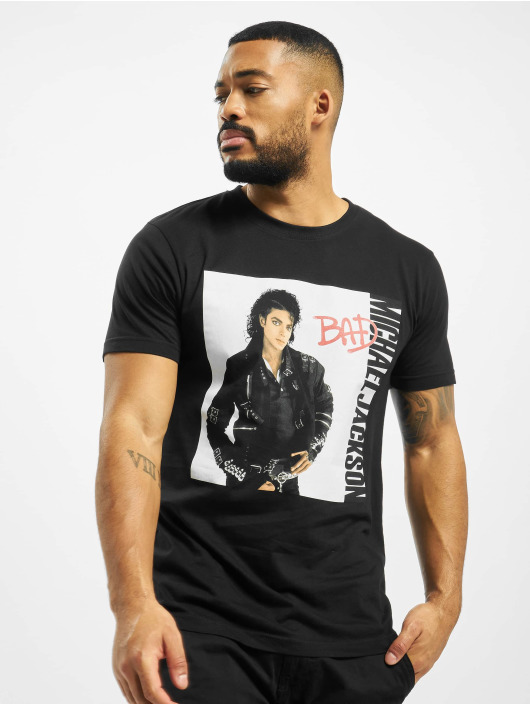 Merchcode Camiseta Michael Jackson Bad negro