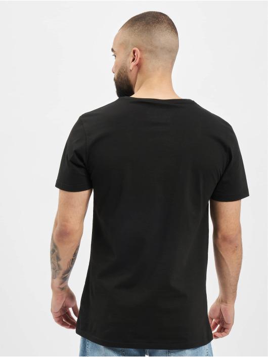 Merchcode Camiseta Baby Yoda Song negro