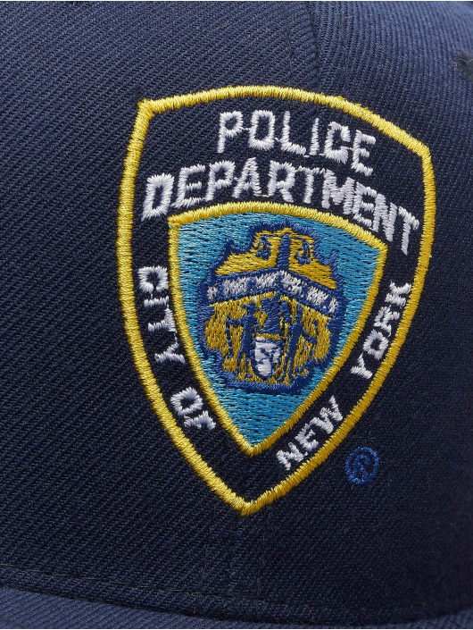 Merchcode Casquette Snapback & Strapback NYPD Emblem bleu