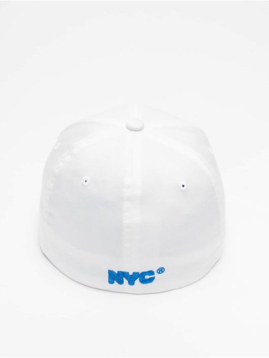 Merchcode Flexfitted Cap Nyc Bronx Emblem bílý