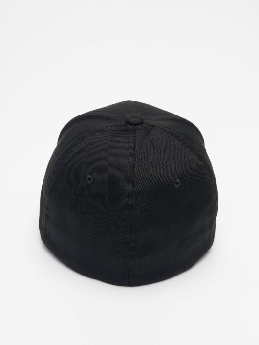 Merchcode Flexfitted Cap Nypd 3d Logo black