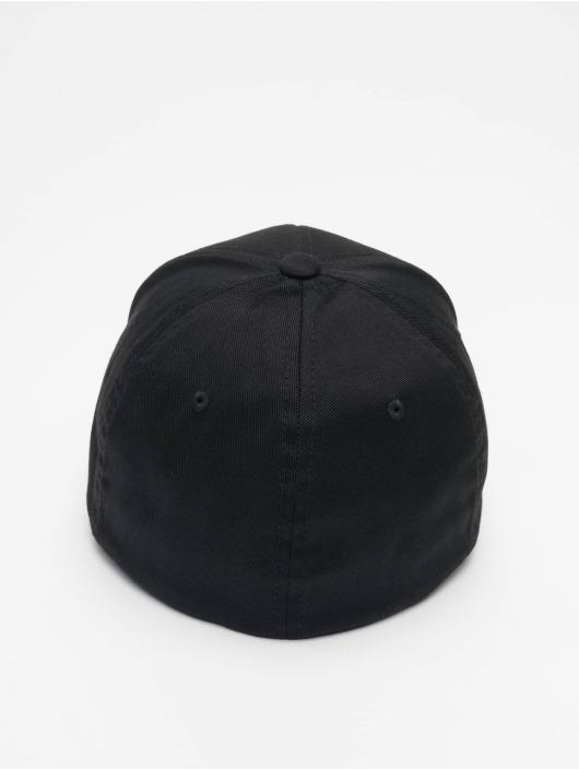 Merchcode Flexfitted Cap Nypd 3d Logo zwart