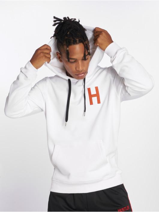 Merchcode Hoody Hustler Logo wit