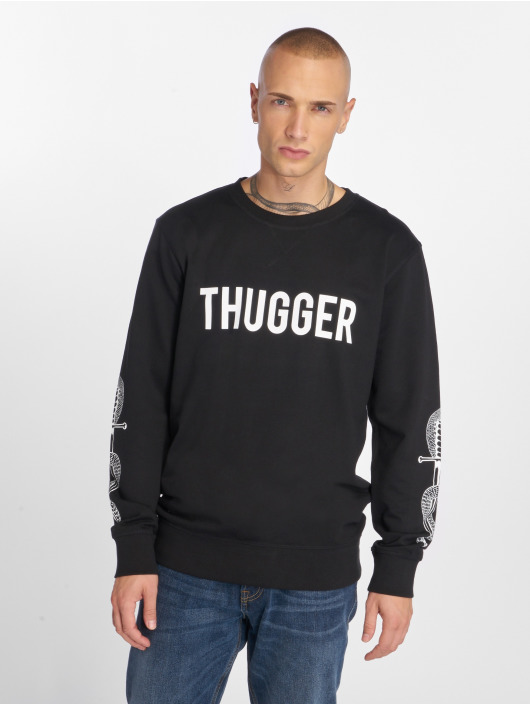 Merchcode Jumper Thugger Snake Sword black