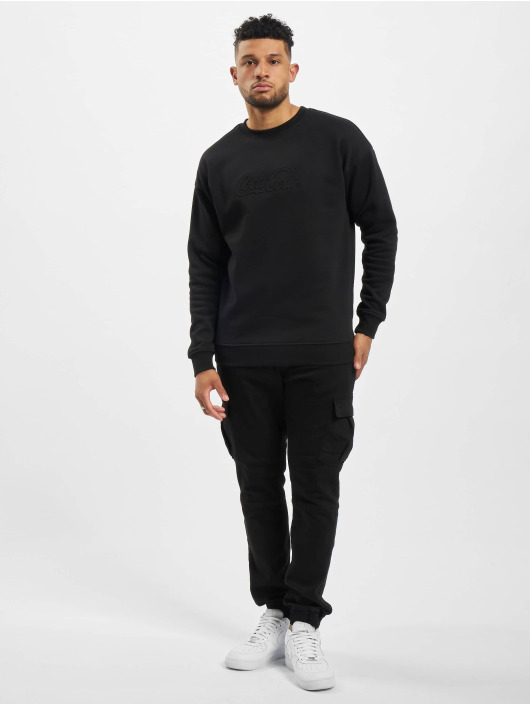 Merchcode Pullover Coca Cola Embossed black