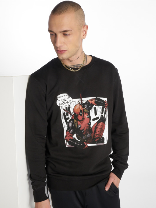 Merchcode Pullover Deadpool Tacos black