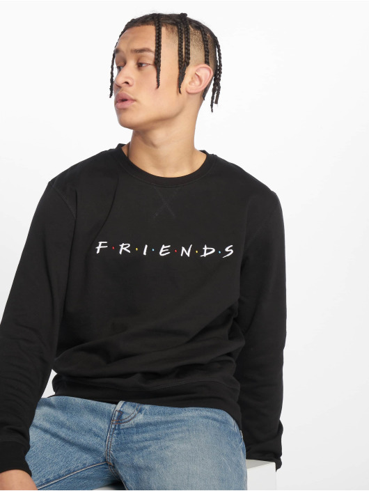 Merchcode Pullover Friends Logo Emb black