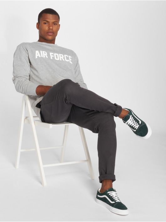 Merchcode Pullover Air Force Lettering grey