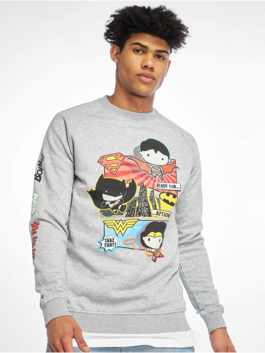 Merchcode Pullover Justice League Tuti grey