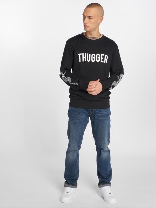 Merchcode Pullover Thugger Snake Sword schwarz
