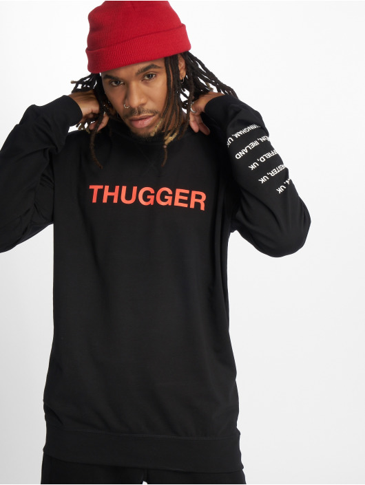 Merchcode Pullover Thugger Childrose schwarz