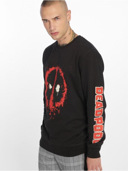 Merchcode Pullover Deadpool Splatter schwarz