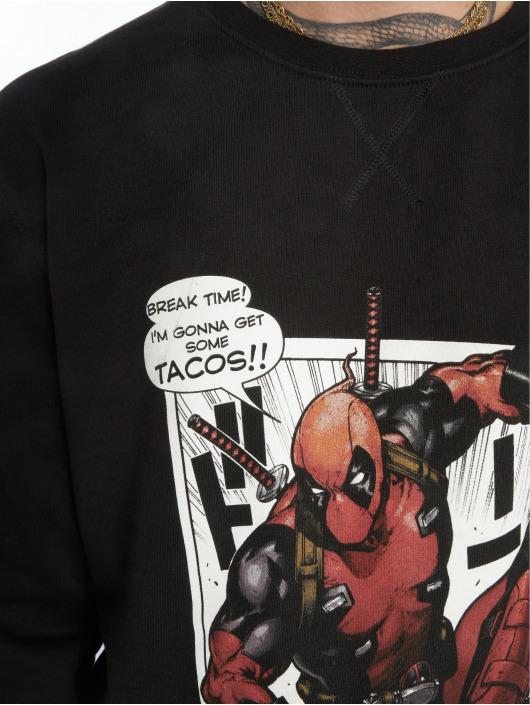 Merchcode Pullover Deadpool Tacos schwarz