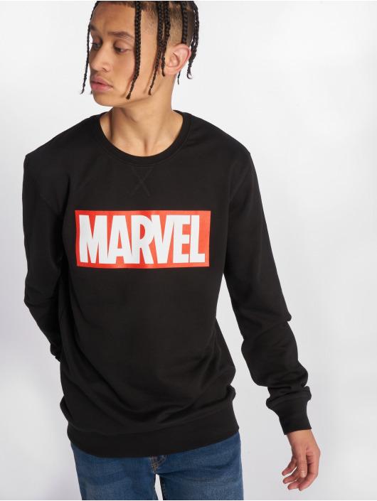 Merchcode Pullover Marvel Logo schwarz