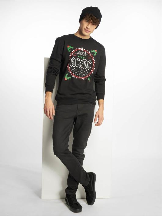 Merchcode Pullover ACDC Christmas schwarz