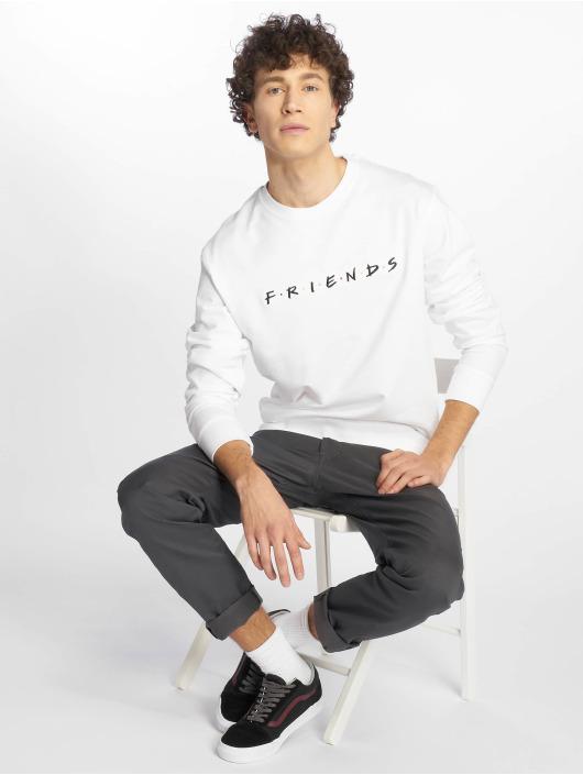 Merchcode Pullover Friends Logo Emb weiß