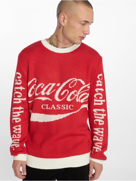 Merchcode Pulóvre Coca Cola Xmas èervená