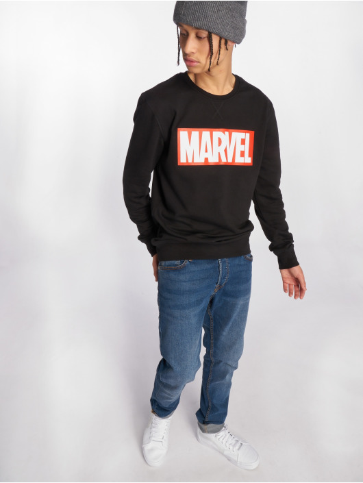Merchcode Pulóvre Marvel Logo èierna