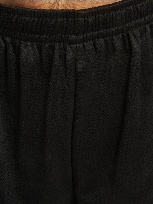 Merchcode Shorts Hustler Mesh schwarz