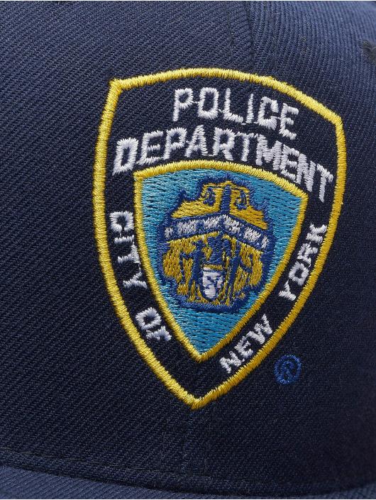 Merchcode snapback cap NYPD Emblem blauw