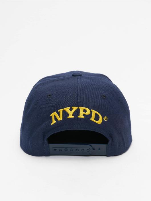 Merchcode Snapback Caps NYPD Emblem modrý