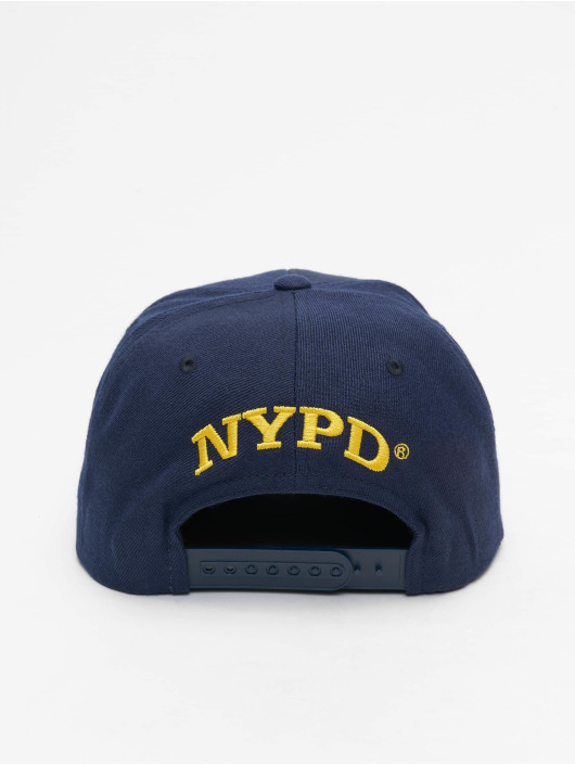 Merchcode Snapbackkeps NYPD Emblem blå