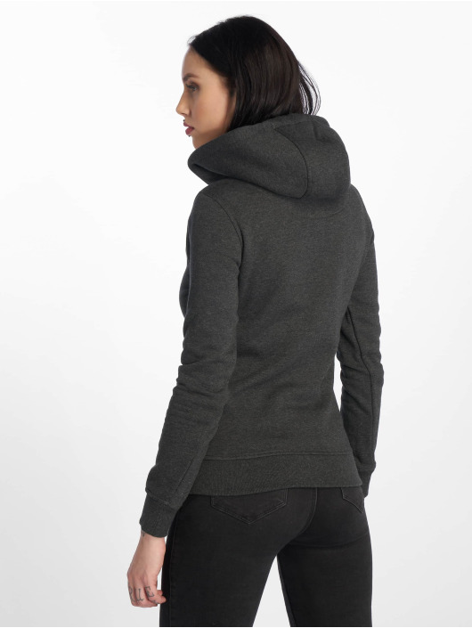 Merchcode Sweat capuche Bad Girls Have More Fun gris
