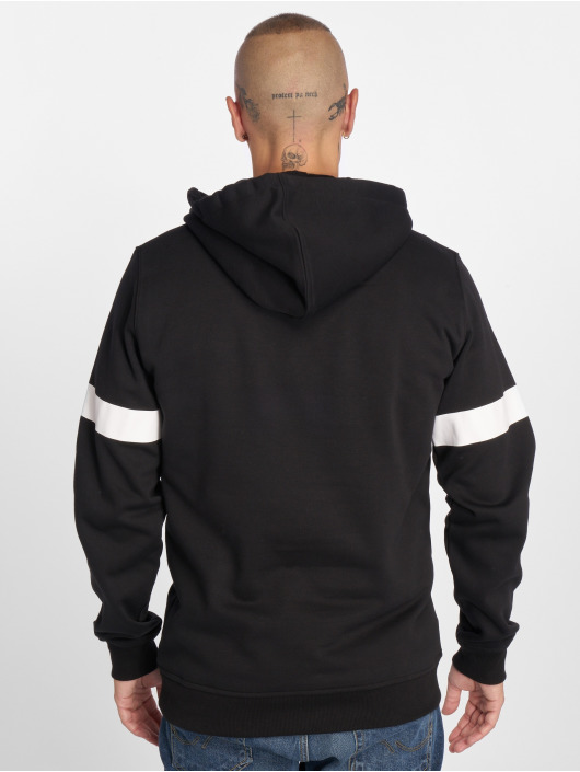 Merchcode Sweat capuche Hustler Stripe noir