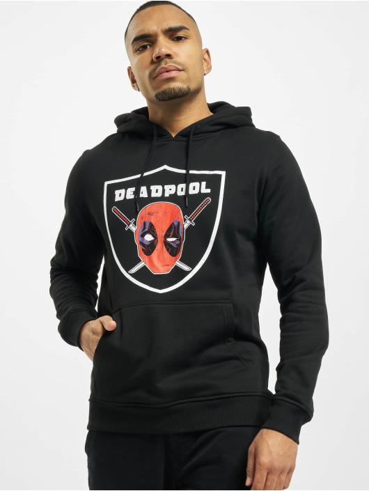 Merchcode Sweat capuche Deadpool Raider noir