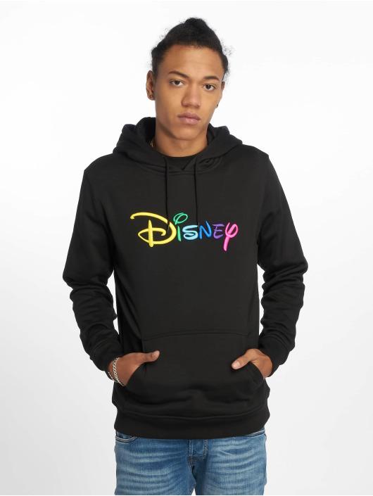 Merchcode Sweat capuche Disney Rainbow Logo Emb noir