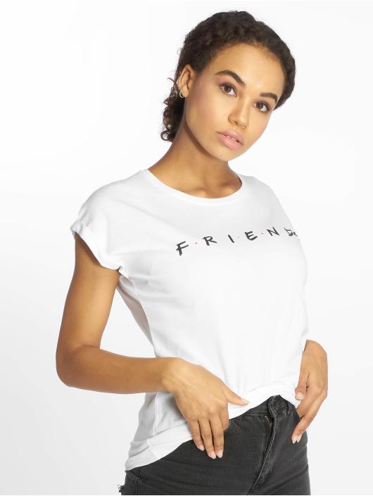Merchcode T-paidat Friends Logo valkoinen