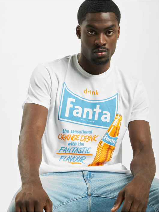 Merchcode T-paidat Fanta Refreshing valkoinen