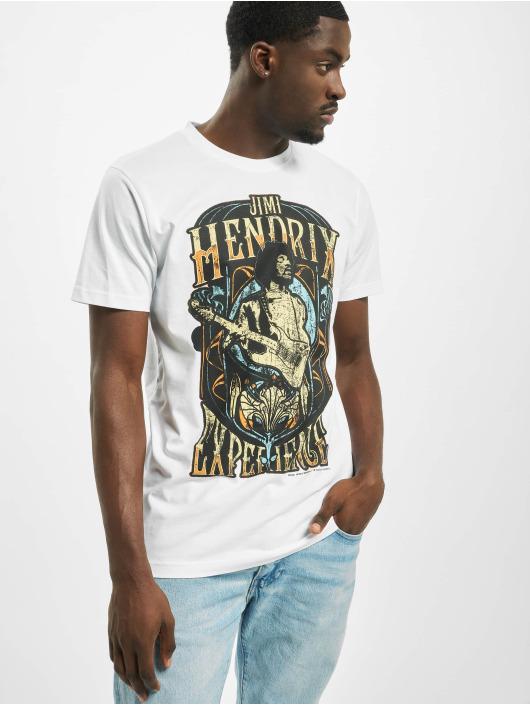 Merchcode T-paidat Jimi Hendrix Experience valkoinen