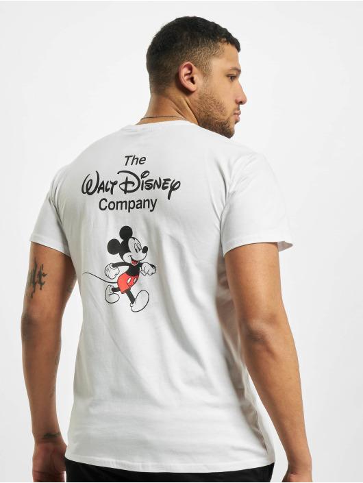Merchcode T-paidat Mickey Mouse Rainbow Pride valkoinen