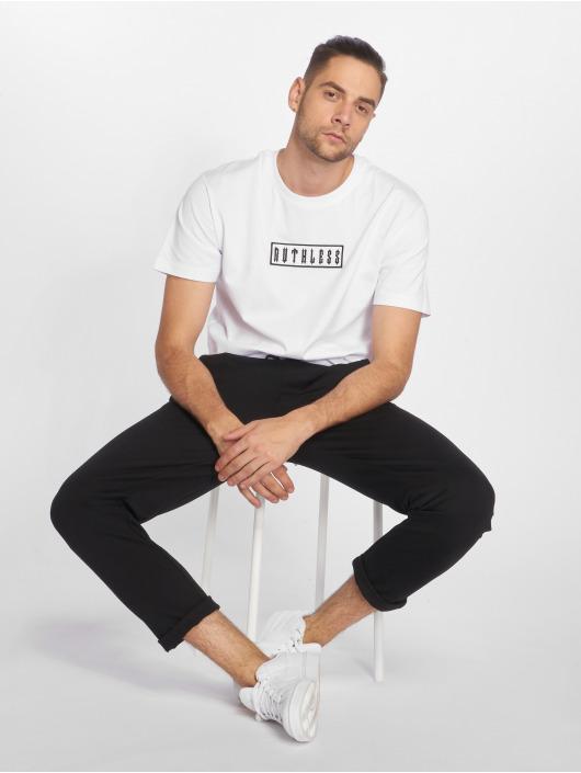 Merchcode T-shirt Ruthless Patch bianco
