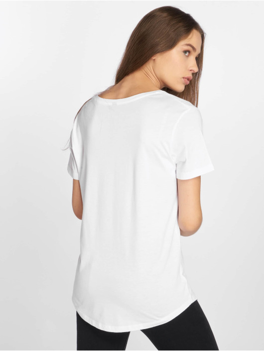Merchcode T-shirt Ladies Justice League bianco