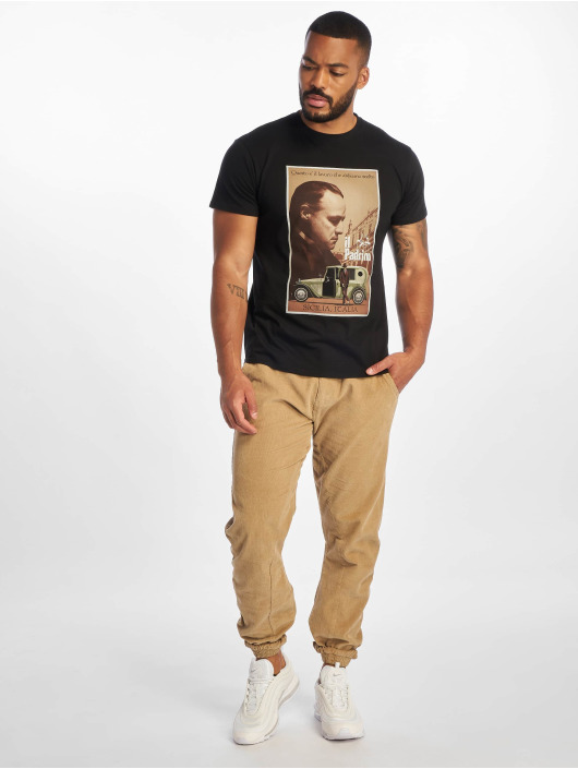 Merchcode T-Shirt Godfather Poster black