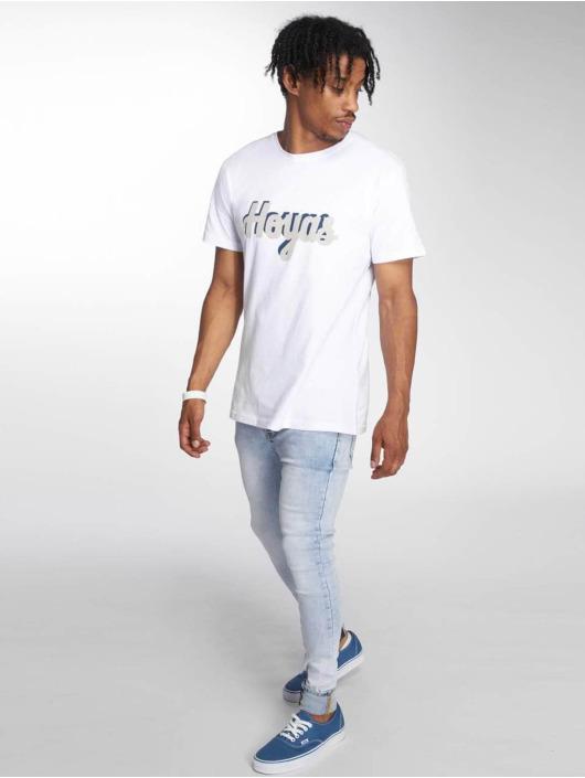 Merchcode T-Shirt Georgetown Hoyas blanc