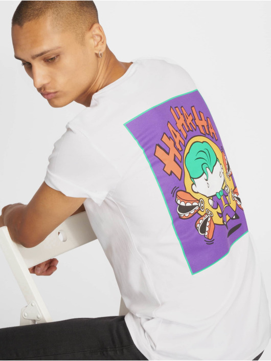 Merchcode T-Shirt Comic Joker blanc