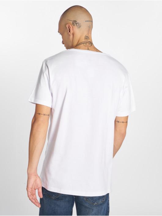 Merchcode T-Shirt Michael Basketball blanc
