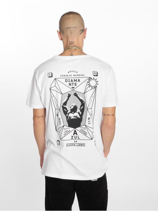 Merchcode T Blanc Homme shirt Diamante 587688 PukXiTZO