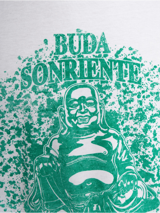Merchcode T-Shirt Buda blanc