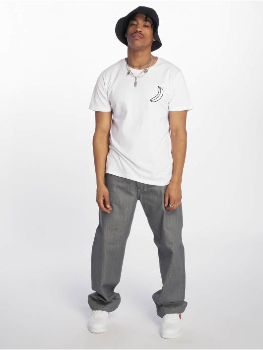 Merchcode T-Shirt Banksy Keep It Real blanc