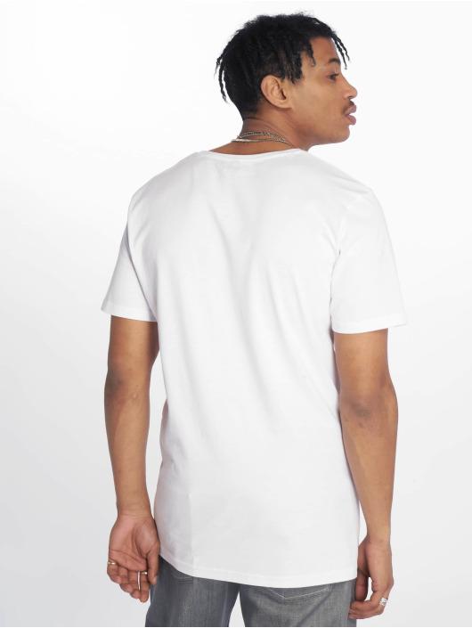 Merchcode T-Shirt Banksy Hiphop Rat blanc
