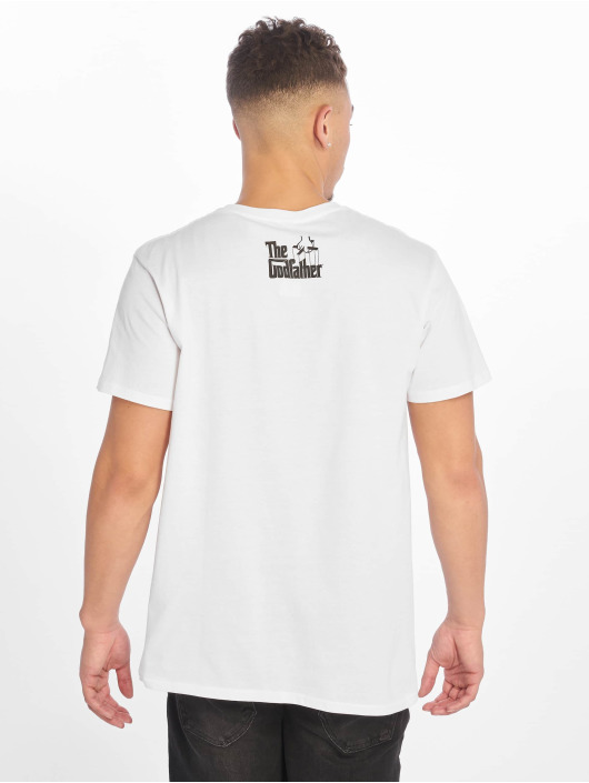Merchcode T-Shirt Godfather Il Padrino blanc